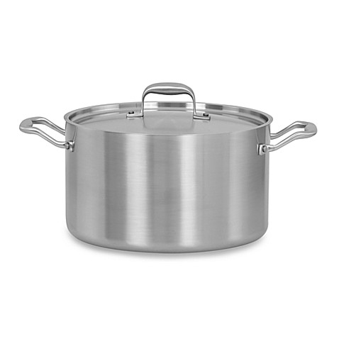 American Kitchen Tri-Ply 8-Quart Stock Pot
