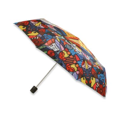 Britto™ by Giftcraft Garden Design Collapsible Travel Umbrella