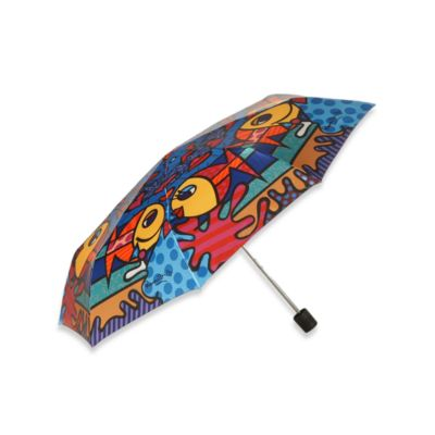 Britto™ by Giftcraft Deeply in Love Collapsible Travel Umbrella