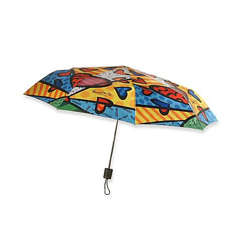 Britto™ by Giftcraft A New Day Collpasible Travel Umbrella