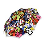 Britto™ by Giftcraft Swing Design Umbrella with Wooden Handle