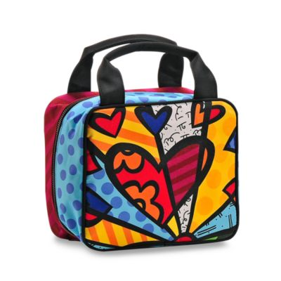 Britto™ by Giftcraft Heart Cosmetic Bag