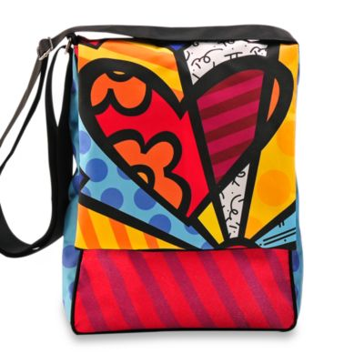 Britto™ by Giftcraft Heart Messenger Bag