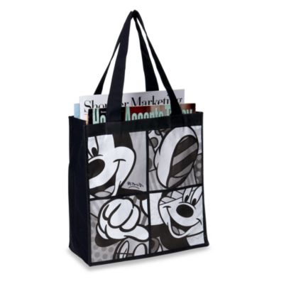 Disney by Britto™ Mickey Mouse Black and White Tote Bag