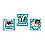 Butch & Harold Sticker Pockets in Turquoise (Set of 3)