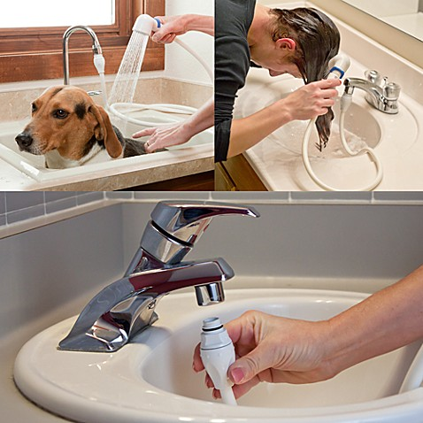 ... Ace Sink Faucet Rinser with Detachable 3 Hose from Bed Bath & Beyond
