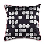 KAS® Mika 18-Inch Square Black Toss Pillow