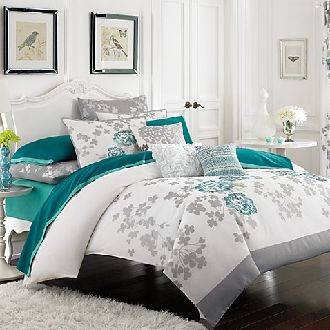 KAS® Alaina Twin Duvet Cover
