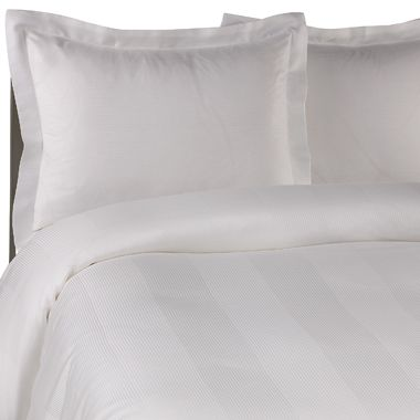 Eucalyptus Origins™ Tencel® Fiber Full/Queen Duvet Cover Set in White