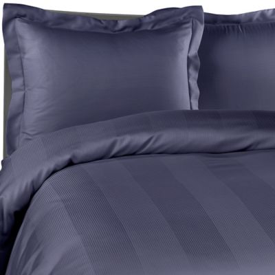 Eucalyptus Origins™ Tencel® Fiber Duvet Cover Set in Denim Blue