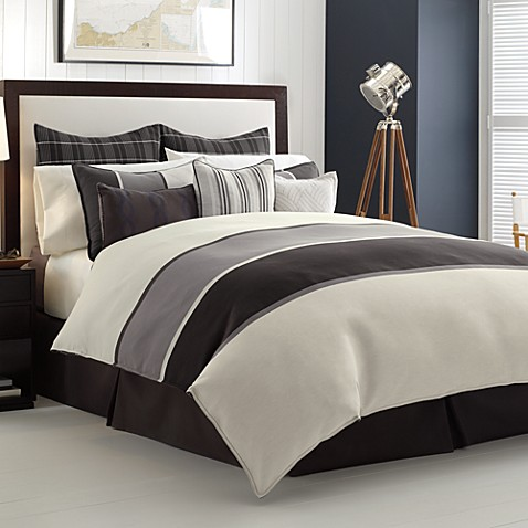 Nautica Oyster Point Twin Duvet Cover
