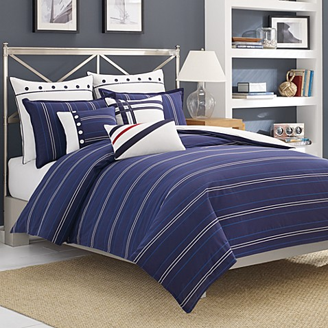 Nautica® Winston Duvet Cover, 100% Cotton