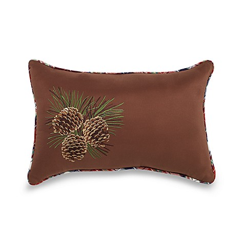 "Mountain Lodge 16"" Square Toss Pillow"