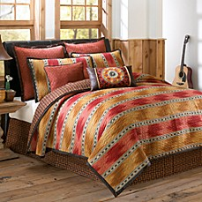 El Rancho Rojo Quilt, 100% Cotton