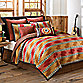 El Rancho Rojo California King Bed Skirt
