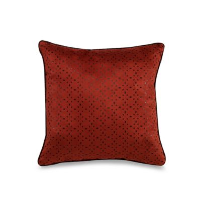 El Rancho Rojo 18-Inch Square Throw Pillow