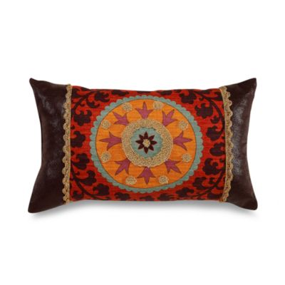 El Rancho Rojo Breakfast Toss Pillow