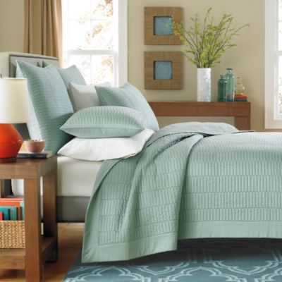 Real Simple® Dune Pillow Sham in Sea Glass