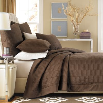 Real Simple® Dune European Sham in Chocolate