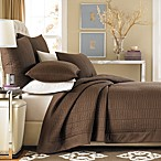 Real Simple® Dune Coverlet in Chocolate