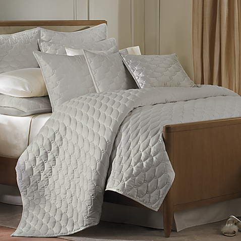 Barbara Barry® Glamour Twin Quilt in Sterling