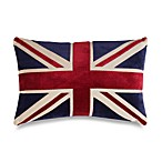 Union Jack 20-Inch Decorative Toss Pillow