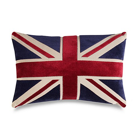 Union Jack 20-Inch Decorative Throw Pillow