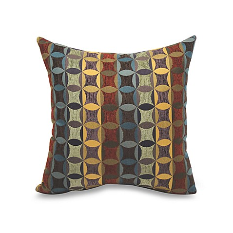 Cadence Knife Edge 20-Inch Square Throw Pillow