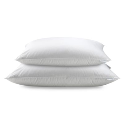 Real Simple White Down Pillow