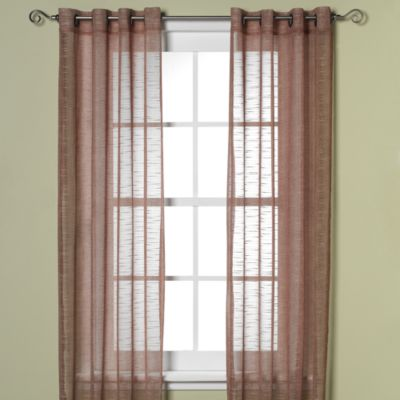 B. Smith Horton Grommet 95-Inch Window Curtain Panel