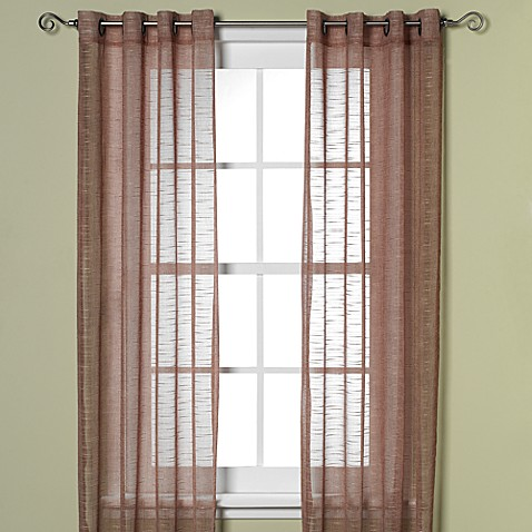 B. Smith Horton Grommet 108-Inch Window Curtain Panel