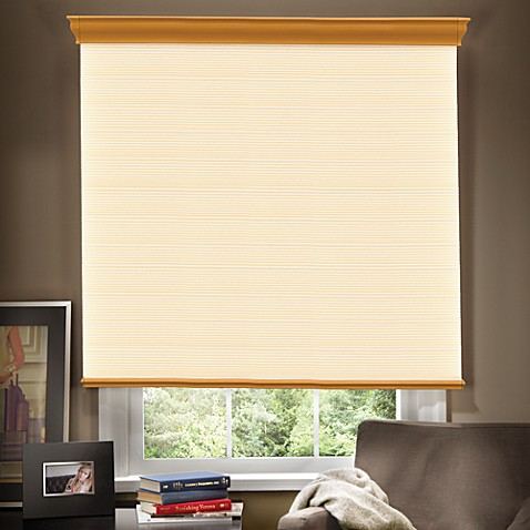 Umbra® Venice Cordless Cellular Shade with Decorative Valance