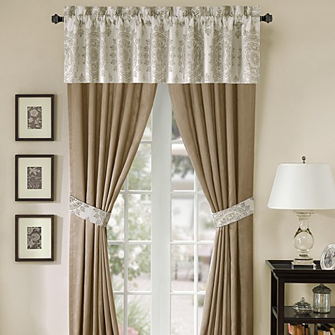 Medallion 84-Inch Window Curtain Panel Pair
