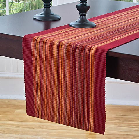 Barrington table runner bed bath beyond for 12 ft table runner