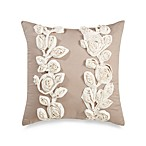 Bridge Street Sonoma Square Throw Pillow in Taupe