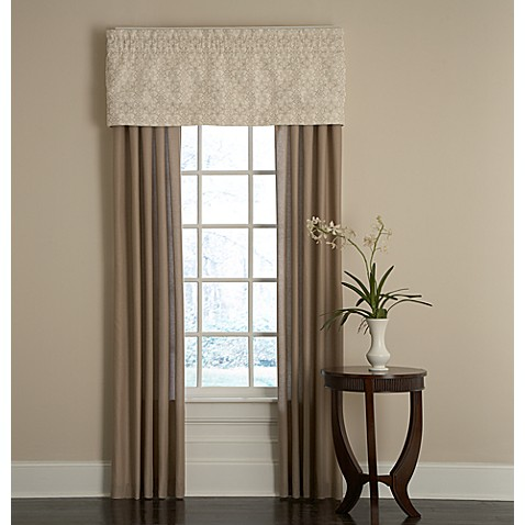 Royal Heritage Home® Sonoma Window Valance in Ivory
