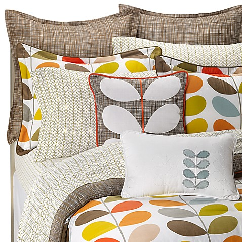Orla Kiely Stem King Quilted Sham