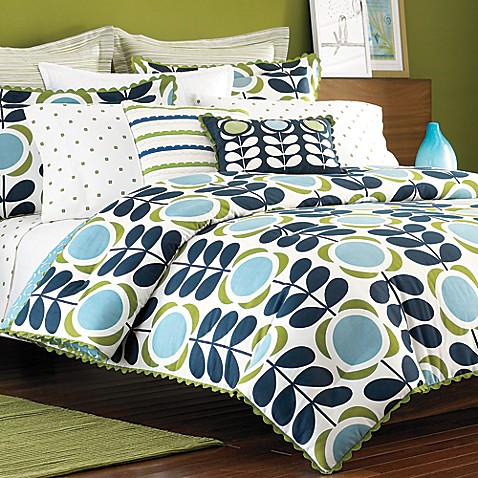 Orla Kiely Field of Flowers European Sham