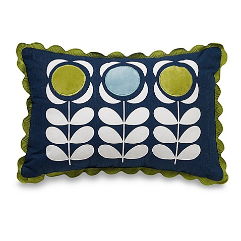 Orla Kiely Field of Flowers Oblong Toss Pillow