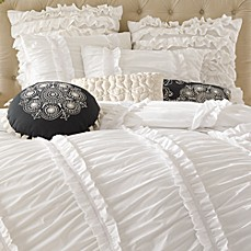 Anthology™ Clara Ruffled Comforter Set, 100% Cotton