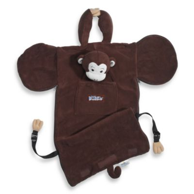 BlanKid Buddy Monkey Blanket