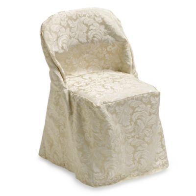 Ashbury Scroll Folding Chair Cover
