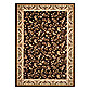 World Rug Gallery Elite Brown/Floral 4-Foot x 6-Foot Accent Rug