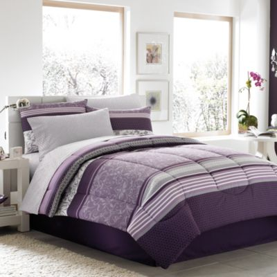 Jules 8-Piece Queen Comforter and Sheet Set