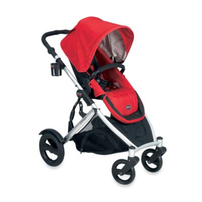 Britax B-Ready Modular Stroller in Red