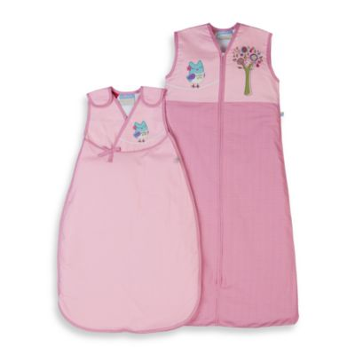 Living Textiles Baby Smart-Dream™ Baby Sleeping Bag in Baby Doll Owl