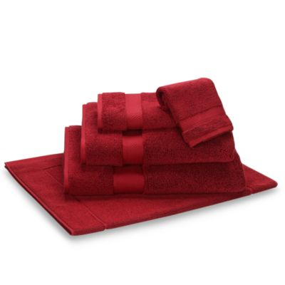 Wamsutta® Duet Washcloth in Crimson