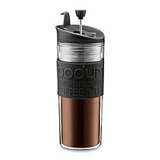 Bodum(R) Double-Wall 15-Ounce Thermal Plastic Travel Coffee and Tea Press with Tumbler Lid