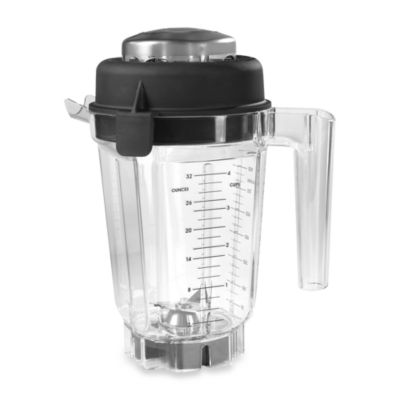 Vitamix® Eastman Tritan Copolyester 32-Ounce Container with Lid, Dry Blade and Recipe Book