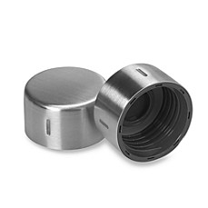 SodaStream Bottle Caps in Stainless Steel (Set of 2)